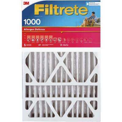 Filtrete 20 In. x 25 In. x 4 In. Allergen Defense 1000 MPR Deep Pleat Furnace Filter